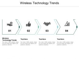 Wireless Technology Trends Ppt Powerpoint Presentation Shapes Cpb