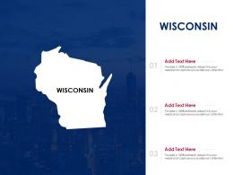 Wisconsin Powerpoint Presentation PPT Template
