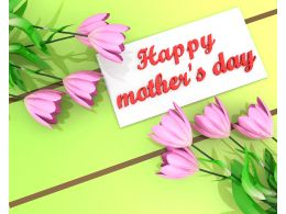 Wishes For Happy Mothers Day Stock Photo