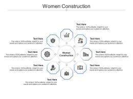 Women Construction Ppt Powerpoint Presentation Layouts Ideas Cpb