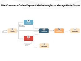 WooCommerce Online Payment Methodologies To Manage Order Status