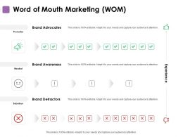 Word Of Mouth Marketing Planning Ppt Powerpoint Presentation Influencers