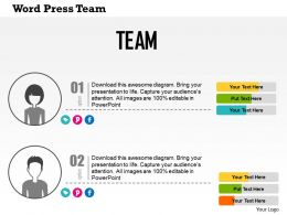 word_press_team_flat_powerpoint_design_Slide01