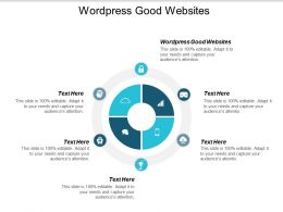Wordpress Good Websites Ppt Powerpoint Presentation Infographic Template Display Cpb