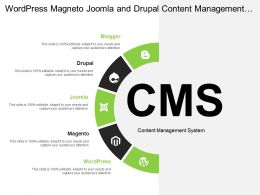 Wordpress Magneto Joomla And Drupal Content Management System