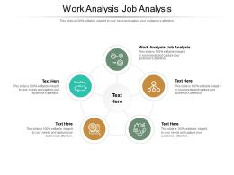 Work Analysis Job Analysis Ppt Powerpoint Presentation Model Clipart Cpb