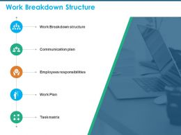 Work Breakdown Structure Employees Responsibilities Ppt Presentation Ideas