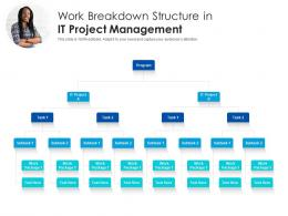 Work Breakdown Structure In IT Project Management