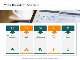 Work Breakdown Structure Matrix M2496 Ppt Powerpoint Presentation File Display