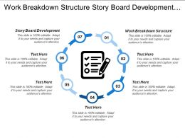 Work Breakdown Structure Story Board Development Document Templates