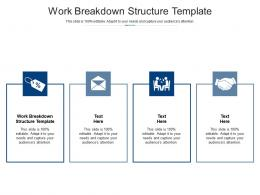 Work Breakdown Structure Template Ppt Powerpoint Presentation Model Backgrounds Cpb