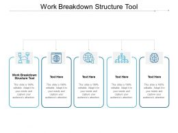 Work Breakdown Structure Tool Ppt Powerpoint Presentation Infographic Template Example Introduction Cpb