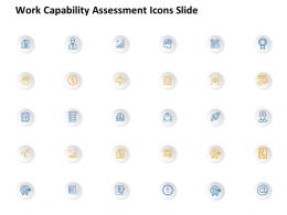 Work Capability Assessment Icons Slide Growth L870 Ppt Portfolio