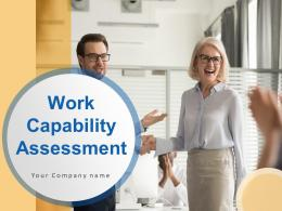Work Capability Assessment Powerpoint Presentation Slides