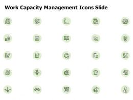 Work Capacity Management Icons Slide Target L884 Ppt Inspiration