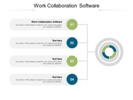 Work Collaboration Software Ppt Powerpoint Presentation Layouts Show Cpb