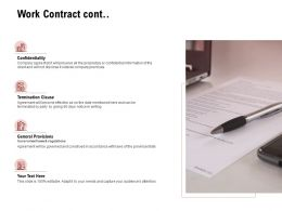 Work Contract Cont Business Ppt Powerpoint Presentation Styles Example