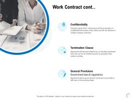 Work Contract Cont Clause Ppt Powerpoint Presentation Layouts Introduction
