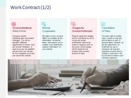 Work Contract Cooperation Ppt Powerpoint Presentation Gallery Backgrounds