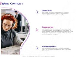Work Contract Engagement Ppt Powerpoint Presentation Show Model