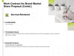 Work Contract For Brand Market Share Proposal Contd L1443 Ppt Powerpoint Infographics