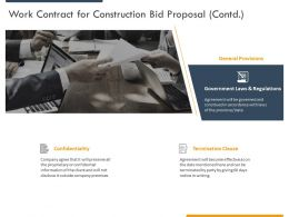 Work Contract For Construction Bid Proposal Contd Ppt Powerpoint Presentation Portfolio Icon