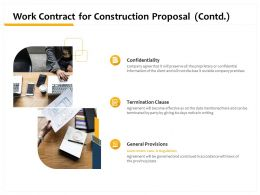 Work Contract For Construction Proposal Contd L1502 Ppt Powerpoint Presentation Good