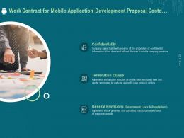 Work Contract For Mobile Application Development Proposal Contd Ppt File Aids