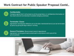 Work Contract For Public Speaker Proposal Contd Ppt Powerpoint Presentation Styles Portrait