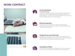 Work Contract Mutual Cooperation Ppt Powerpoint Presentation Infographics Gallery