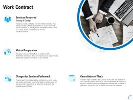 Work Contract Services Ppt Powerpoint Presentation Slides Graphics