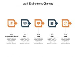 Work Environment Changes Ppt Powerpoint Presentation Infographic Template Template Cpb