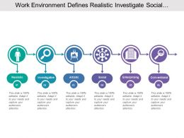 Work Environment Defines Realistic Investigate Social And Enterprising