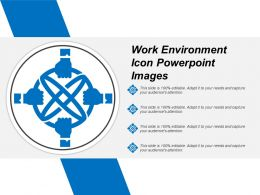 Work Environment Icon Powerpoint Images