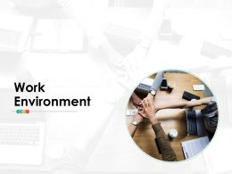 Work Environment Ppt Infographics Design Templates