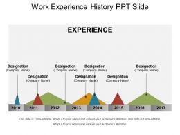 work_experience_history_ppt_slide_Slide01