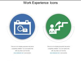 Work Experience Icons