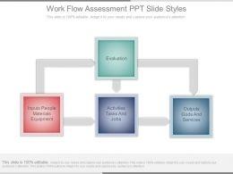 Work Flow Assessment Ppt Slide Styles