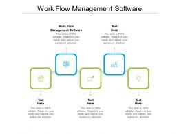 Work Flow Management Software Ppt Powerpoint Presentation Show Portrait Cpb