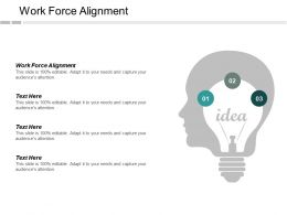 Work Force Alignment Ppt Powerpoint Presentation Layouts Good Cpb
