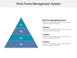 Work Force Management System Ppt Powerpoint Presentation Gallery Slide Portrait Cpb
