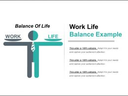Work Life Balance Example Powerpoint Templates