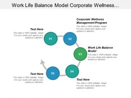 Work Life Balance Model Corporate Wellness Management Program Cpb