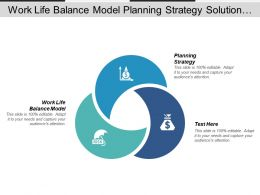 Work Life Balance Model Planning Strategy Solution Problem Cpb