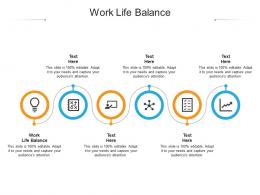Work Life Balance Ppt Powerpoint Presentation Outline Topics Cpb