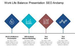 Work Life Balance Presentation Seo Andamp Internet Marketing Cpb