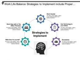 Work Life Balance Strategies To Implement Include Proper Hour Optimization