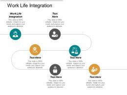 Work Life Integration Ppt Powerpoint Presentation Portfolio Templates Cpb