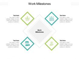 Work Milestones Ppt Powerpoint Presentation Show Graphics Cpb