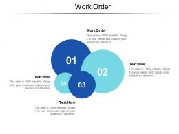 Work Order Ppt Powerpoint Presentation Summary Background Image Cpb